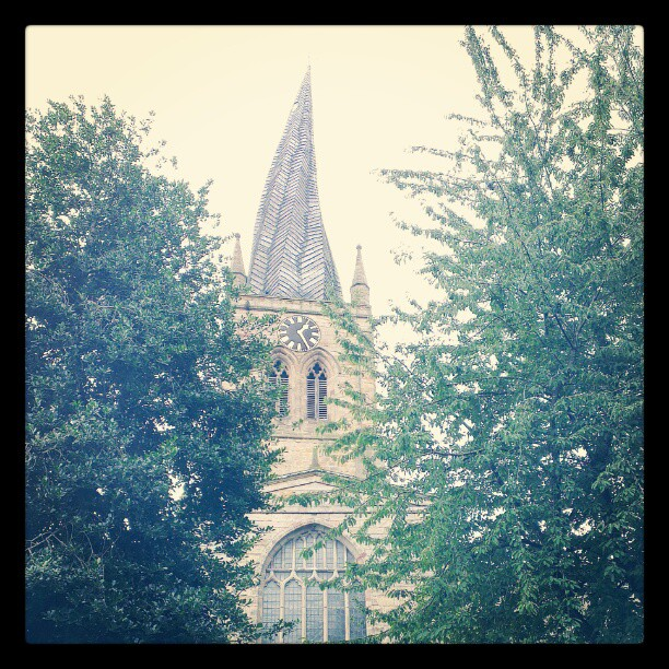 Twisty spire of Chesterfield